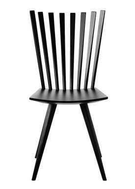 FDB Møbler / Furniture - Chair - J152 Mikado chair by Foersom & Hiort-Lorenzen - Beech / Black