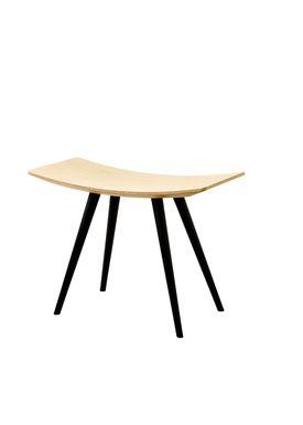 FDB Møbler / Furniture - Chair - J153 Mikado Bar Stool by Foersom & Hiort-Lorenzen - Beech / Black frame