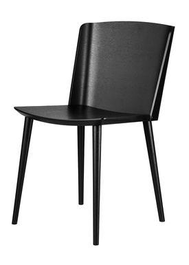 FDB Møbler / Furniture - Chair - J155 Yak by Tom Stepp - Beech / Black / Without armrest