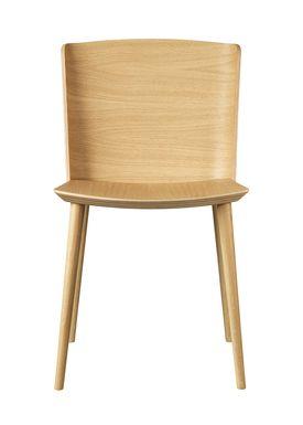 FDB Møbler / Furniture - Chair - J155 Yak by Tom Stepp - Oak / Natural / Without armrest
