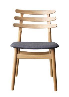 FDB Møbler / Furniture - Chair - J48 by Poul M. Volther - Oak / Anthracite