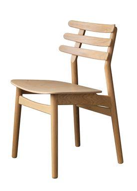FDB Møbler / Furniture - Chair - J48 by Poul M. Volther - Oak / Oak veneer