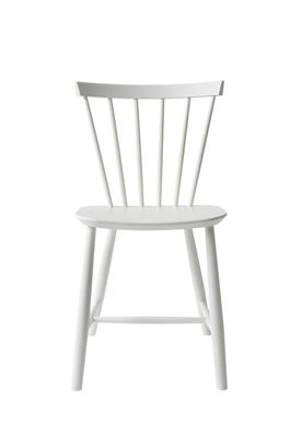 FDB Møbler - Chair - J46 by Poul M. Volther - White