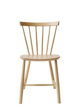 FDB Møbler - Chair - J46 by Poul M. Volther - Nature