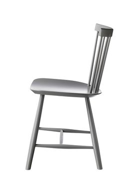 FDB Møbler - Chair - J46 by Poul M. Volther - Grey