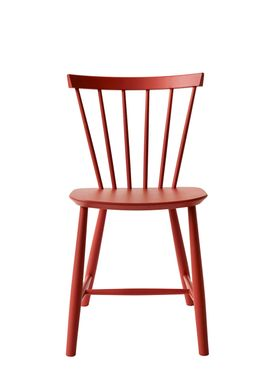 FDB Møbler - Chair - J46 by Poul M. Volther - Red
