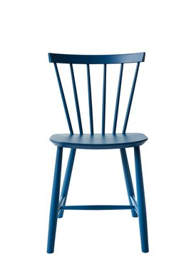 FDB Møbler - Chair - J46 by Poul M. Volther - Blue
