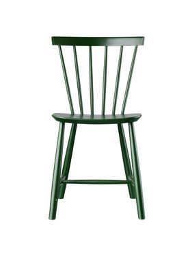 FDB Møbler - Chair - J46 by Poul M. Volther - Bottle Green