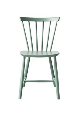 FDB Møbler - Chair - J46 by Poul M. Volther - Dusty Green