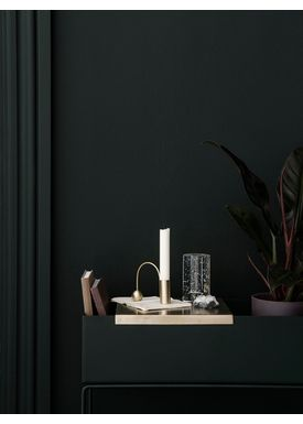 Ferm Living - Tray - Brass Tray For Plant Box - Brass