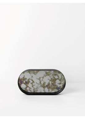 Ferm Living - Tray - Coupled Tray - Oval Small - Green