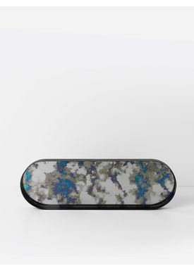 ... Ferm Living - Bricka - Coupled Tray - Oval Large - Blue e7de2b634249e