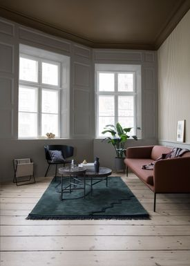 Ferm Living - Table - Marble Table - Small - Green