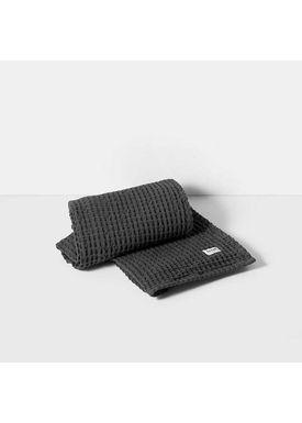 Ferm Living - Towel - Organic Bath Towel - Dark grey