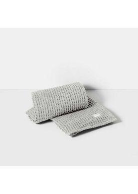 Ferm Living - Towel - Organic Bath Towel - Light grey