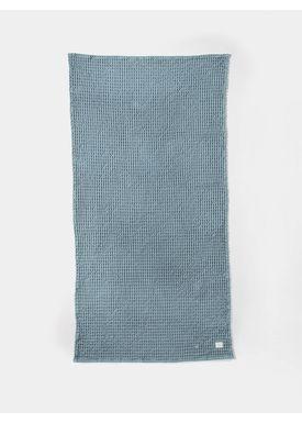 Ferm Living - Towel - Organic Bath Towel - Dusty Blue