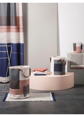 Ferm Living - Towel - Organic Hand Towel - Dark Blue