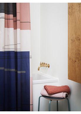 Ferm Living - Towel - Organic Hand Towel - Rust