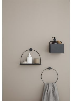 Ferm Living - Hylla - Bathroom Shelf - Black