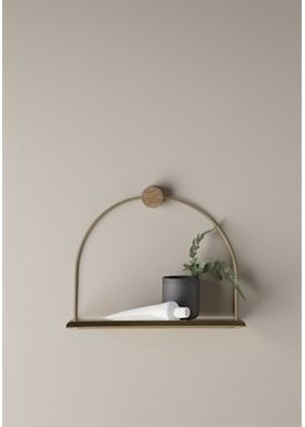 Ferm Living - Hylla - Bathroom Shelf - Brass