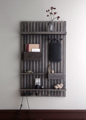 Ferm Living - Hylla - Wooden Multi Shelf - Stained Black