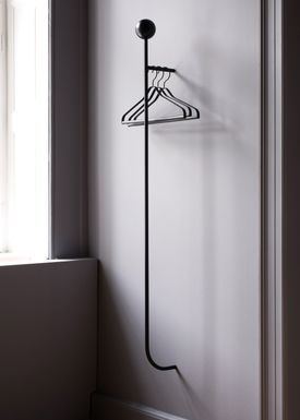 Ferm Living - Hooks - Pujo Coat Rack - Black