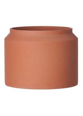Ferm Living - Jar - Outdoor Pot - Ocher - Large
