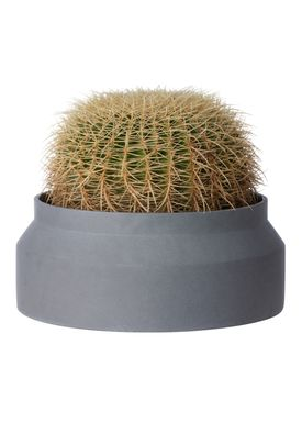 Ferm Living - Jar - Outdoor Pot - Dark Grey - Large