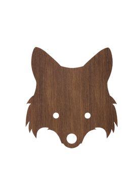 Ferm Living - Lamp - Ferm Childrens Lamp Smoked Oak - Fox: Smoked Oak