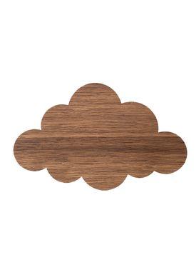 Ferm Living - Lamp - Ferm Childrens Lamp Smoked Oak - Cloud: Smoked Oak