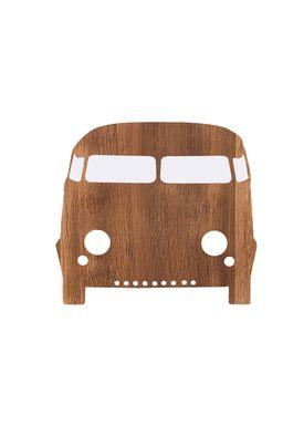 Ferm Living - Lamp - Ferm Childrens Lamp Smoked Oak - Car: Smoked Oak