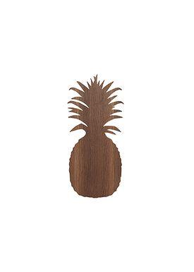 Ferm Living - Lamp - Ferm Childrens Lamp Smoked Oak - Pineapple: Smoked Oak