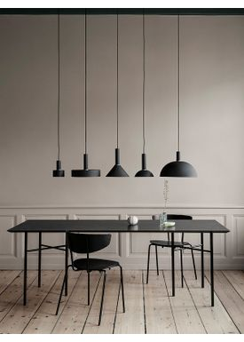 Ferm Living - Lampe - Shades - Dome - Sort