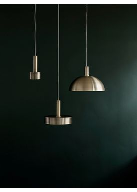 Ferm Living - Lampe - Shades - Record - Messing
