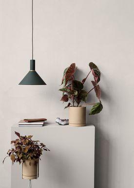 Ferm Living - Lampe - Shades - Cone - Mørke Grøn