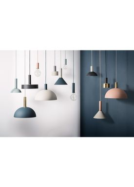 Ferm Living - Lampe - Shades - Record - Mørke Grøn