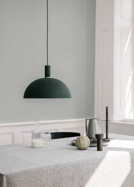 Ferm Living - Lampe - Shades - Dome - Mørke Grøn