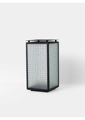 Ferm Living - Lantern - Haze Lantern - Wired glass/Powdercoated frame