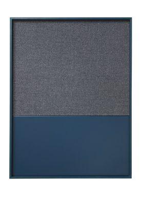 Ferm Living - Notebook - Pin - Blue