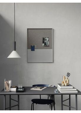 Ferm Living - Bulletin board - Pin - Grey Large