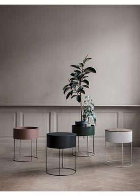 Ferm Living - Plant Stand - Plant Box - Dark Green