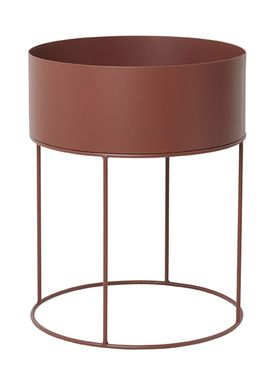 Ferm Living - Plant Stand - Plant Box - Red Brown