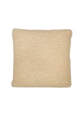 Ferm Living - Cushion - Quilt Cushion - Camel 45 x 45