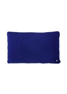 Ferm Living - Cushion - Quilt Cushion - Dark blue 40 x 60