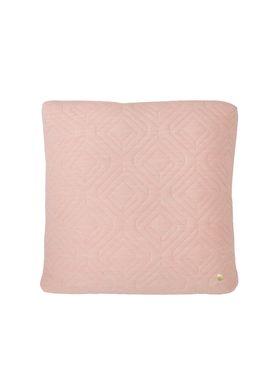 Ferm Living - Cushion - Quilt Cushion - Rose 45 x 45
