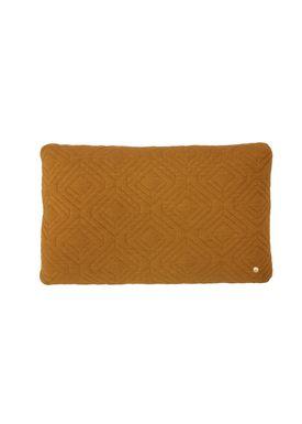 Ferm Living - Cushion - Quilt Cushion - Curry 40 x 60