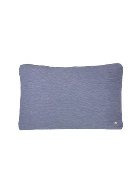 Ferm Living - Cushion - Quilt Cushion - Light blue 40 x 60