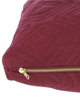Ferm Living - Cushion - Quilt Cushion - Bordeaux 45 x 45