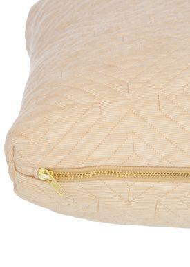 Ferm Living - Cushion - Quilt Cushion - Camel 40 x 60