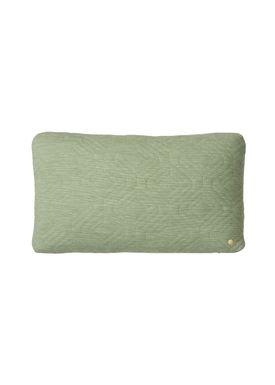 Ferm Living - Cushion - Quilt Cushion - Green 40 x 60
